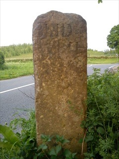 blidworth boundry stone